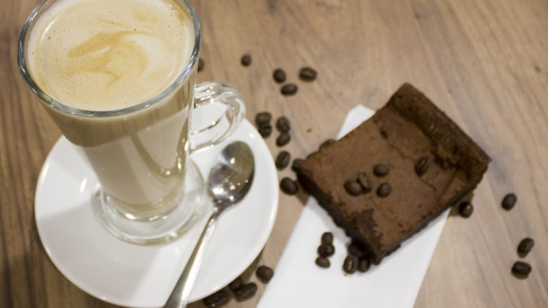 Taste for Life Brownie and Coffee