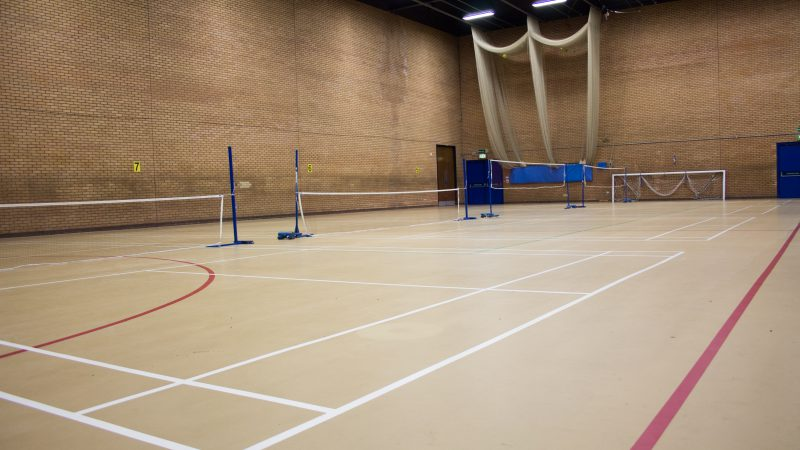 Macclesfield leisure Centre Sport Hall