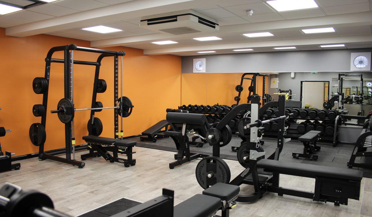 Alsager Gym Weights Area