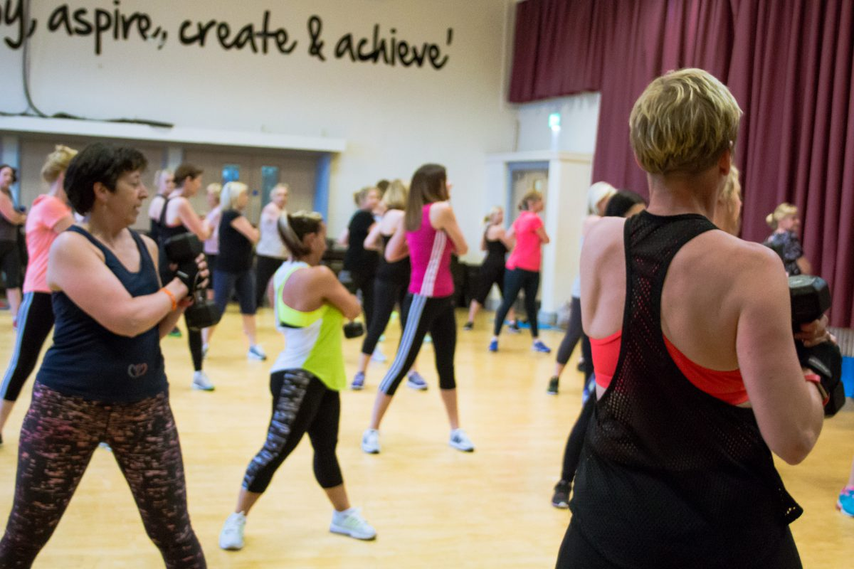 group fitness shavington