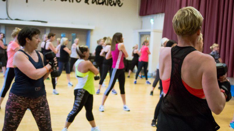 group fitness shavington