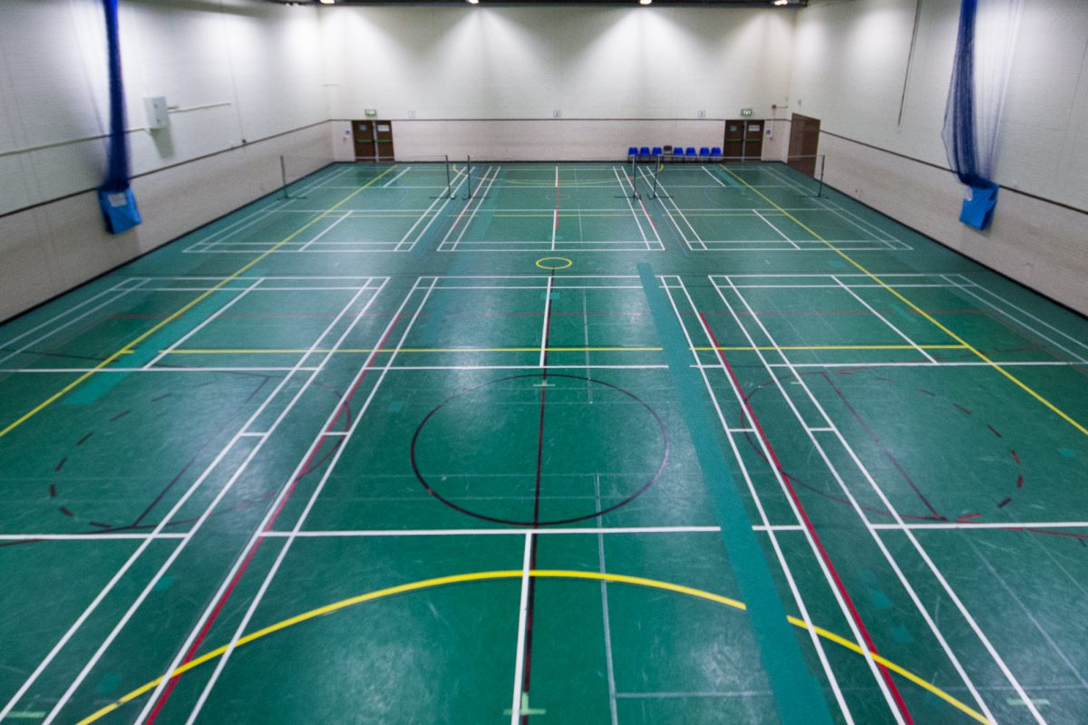 Congleton Leisure Centre Sports Hall