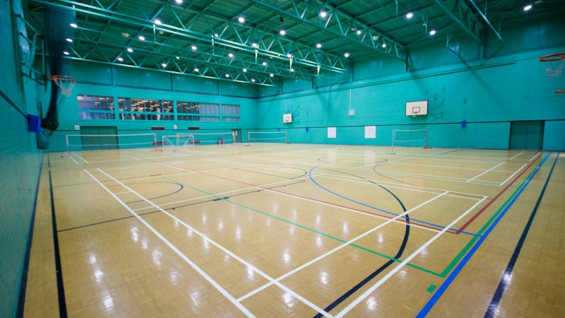 Poynton Leisure Centre Sports Hall