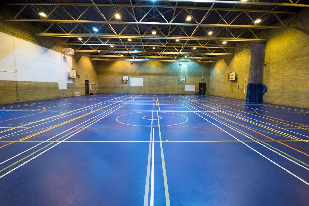 Middlewich Leisure Centre Sports Hall
